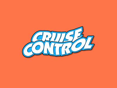 Cruise Control 🧼 design branding type logo typography