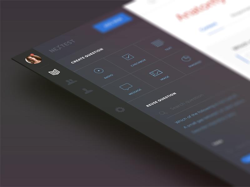 Testing app sidebar