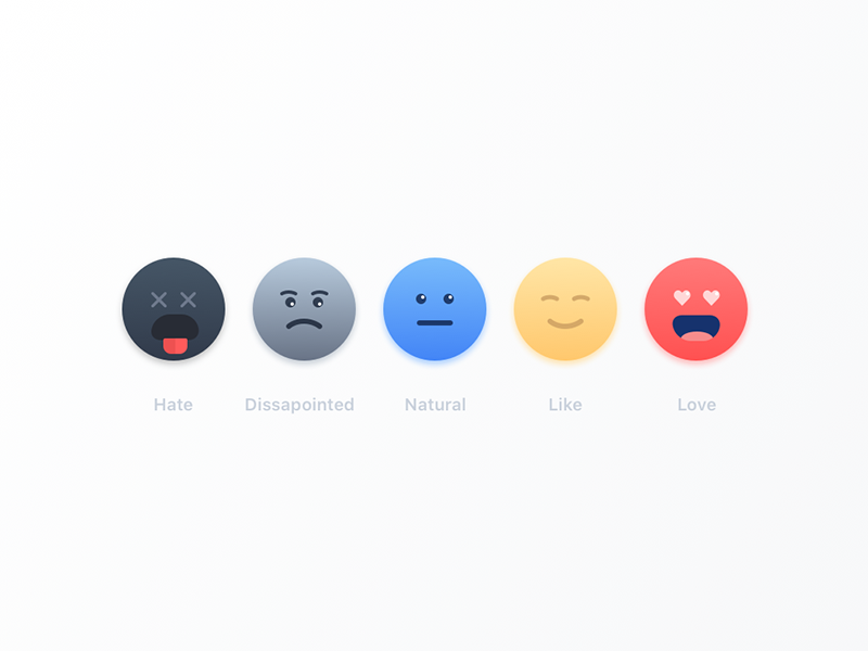 Emojis rating icons sketch emoji