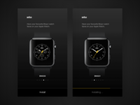 Braun Apple Watch faces