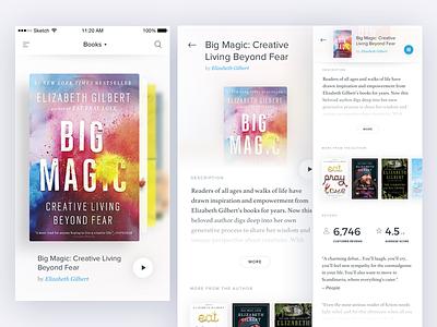 Books sticky header slideshow book audiobooks books ios