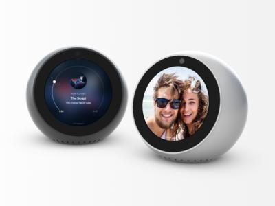 Alexa Echo Spot amazon echo alexa gadget 3d