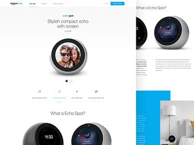 Echo – Web sneak peek echo amazon product