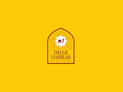 Dhar Darbar Branding ui motion graphics design illustration branding typography vector graphic design logo logodesign uidesign