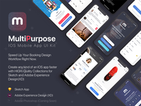 MultiPurpose Mobile App UI Kit