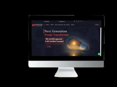 Web Design for ETT Group css php website design wordpress