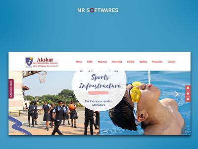 Website for educational sector website design website redesign wordpress website