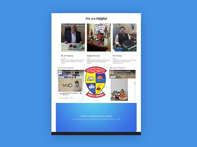 Website for Angel Highschool website redesign website design wordpress