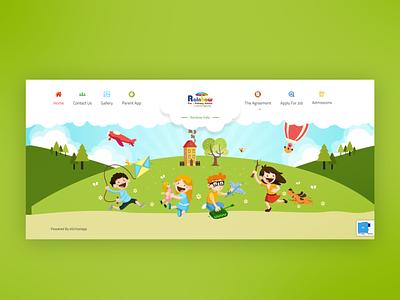WordPress website for Rainbow India School css website redesign website design wordpress
