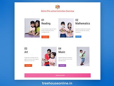 WordPress Website for Treehouse Online css website redesign website design wordpress