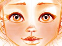 Fire girl - Sketch - Doodle