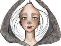 Sketching illustration art brushes photoshop beauty doodle sketch portrait face
