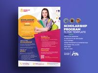 Scholarship Program Flyer Template
