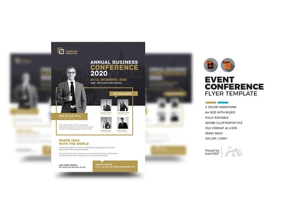 Event | Summit | Conference Flyer Template
