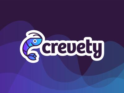 Crevety - Logo Branding