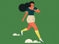 A Running Girl
