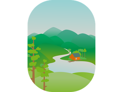Wiew vector illustration