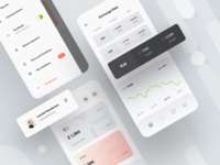 Privat24 – UI Map ui map mobile app ux ui payment ios bank fintech financial services finance app finance e-finance design system dashboard dark theme credit card banking