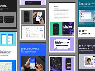 DECODE - Case Studies b2b ux ui wordpress bbagency product design web site user interface user experience visual identity strategy development case study magazine layout layout web design