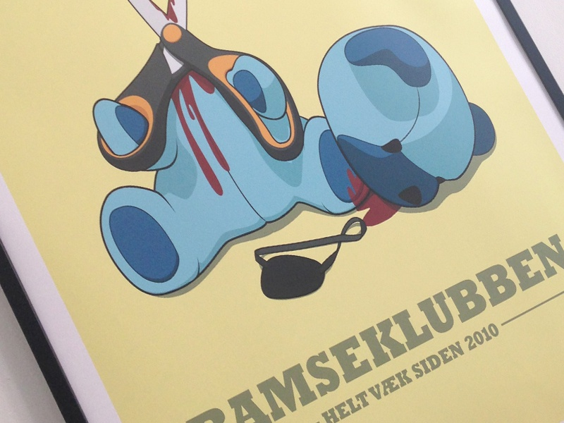 Dribbble poster preview
