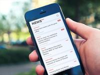 Instant news app