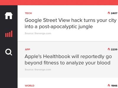 News'ter iPad Sneak Peek