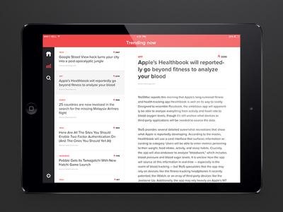 News'ter iPad concept