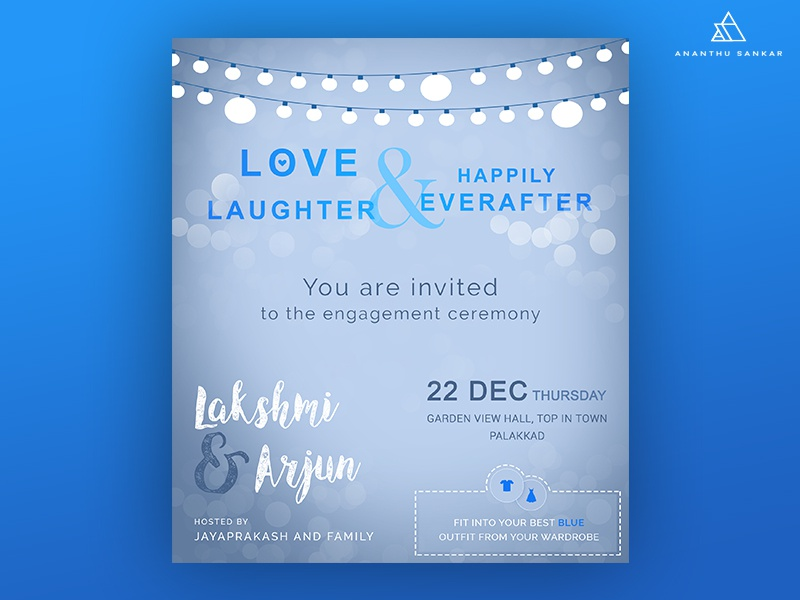 Engagement Invitation invitation design engagement