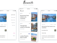Trouvaille - Travel Journal App