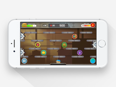 Mechmanic mobile app design inapp android ios mobile game game ui app mobile