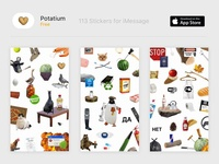 Potatium Stickers