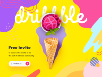 Dribbble Invite free invite friends giveaway invite free invite invite giveaway dribbble invitation dribbble invite