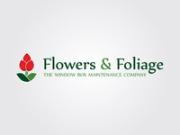 Flowers & Foliage Logo
