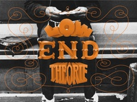 Low End Theorie Lettering