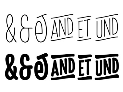 Ampersand variation