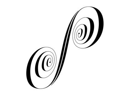 S lettering