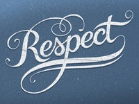 Respect Lettering