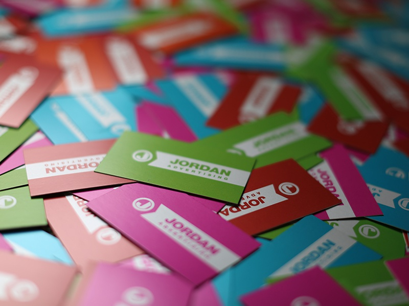 Jordan Business Cards brand identity cards business jordan