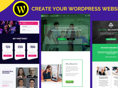 I will create a modern and responsive wordPress website design branding makewebsite wordpresswebsite design elementorpro elementor website moder worepresswebsite wordpressexpert wordpress