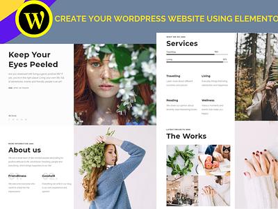 I will convert html,abode xd,psd,figma,wix to wordpress website wordpresswebsite makewebsite elementorpro design branding elementor website co websiteconvert elementor wordpress woredpresswebsite