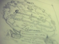 Sketches For Wedding invitation