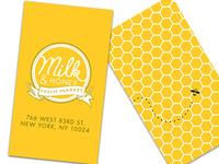 Milk & Honey Fresh Market - Branding