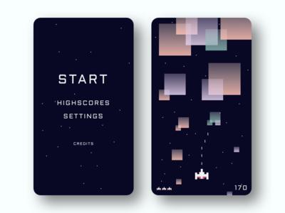 Game Concept pastel app blocks mobile game