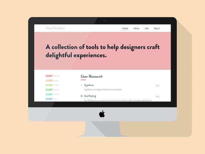 Sans Francisco responsive` layout navigation menu ui website webdesign