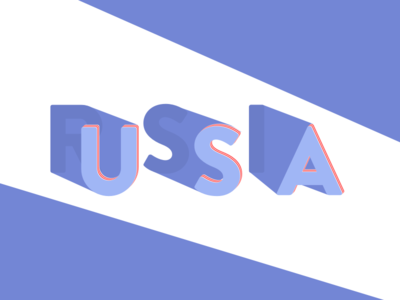 Shady Politics shadow graphic russia united states america usa politics typography type