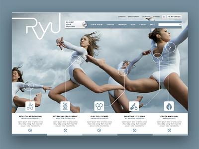RYU Website Design