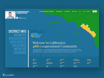 Site design for Congressional Communities