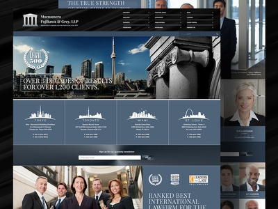Website for MFG Law