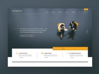 Website design for an executive search and consulting firm