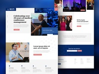 Web Design for Medical Conference Planners Inc.
